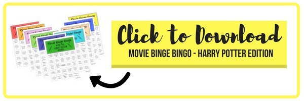 Download Harry Potter Movie BIngo - FREE