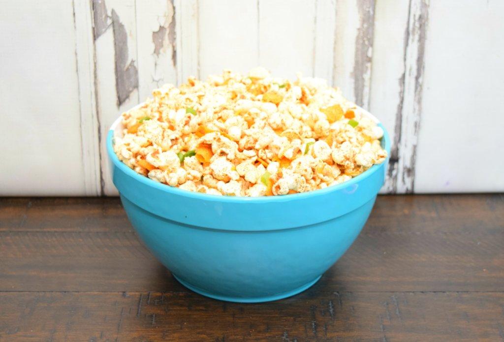 Make some Chili Pie Popcorn