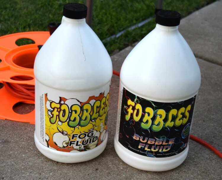 Fobbles - fog fluid and bubble fluid