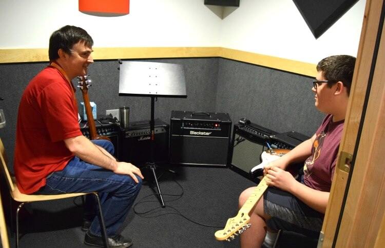 Starting guitar lessons at Guitar Center