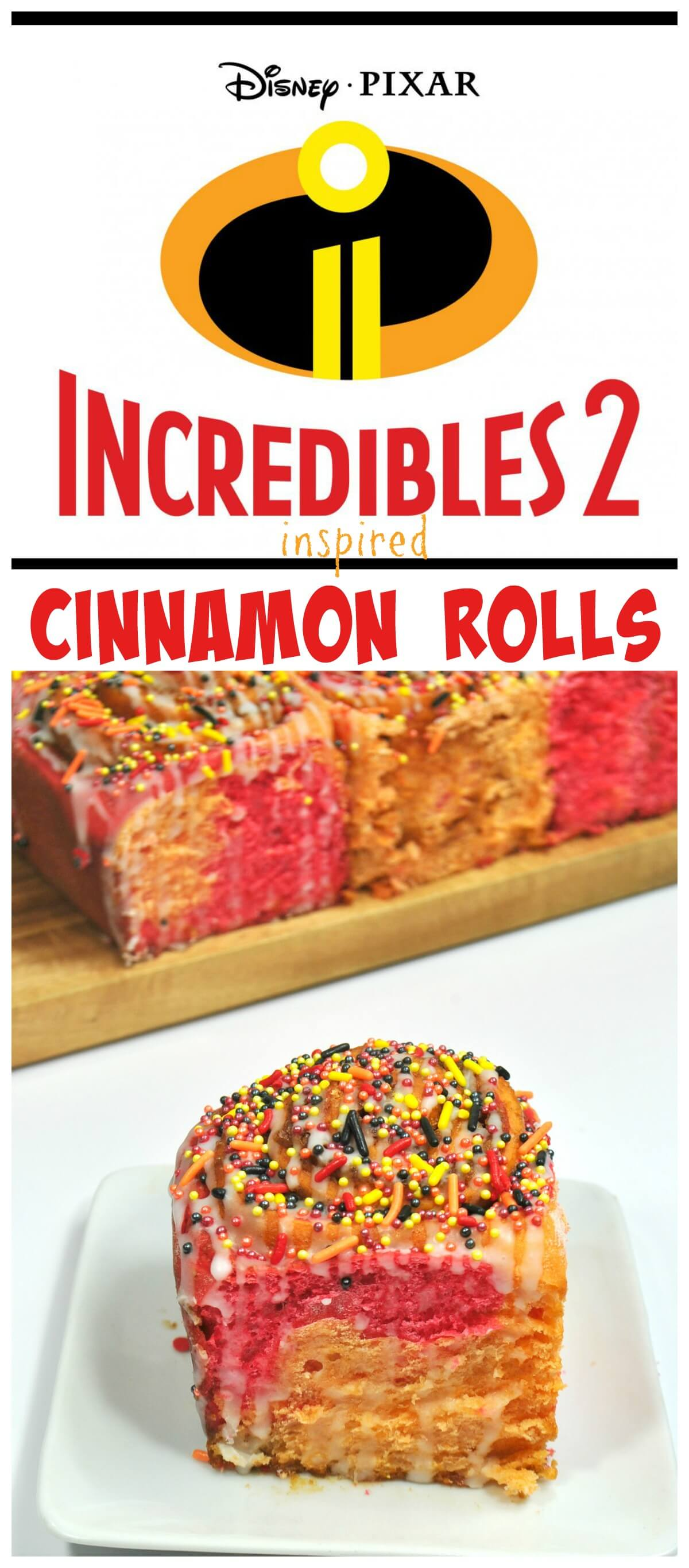 The Incredibles 2 movie review & Cinnamon Rolls!