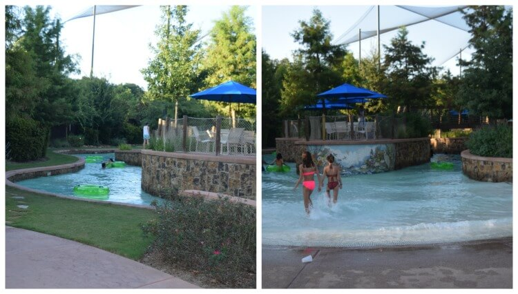 The Woodlands Resort lazy river