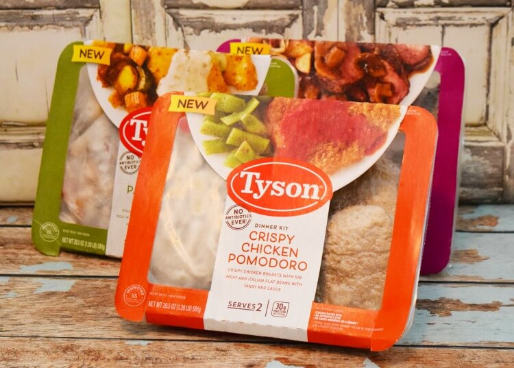 Tyson® Fully Cooked Dinner and Entrée Kits