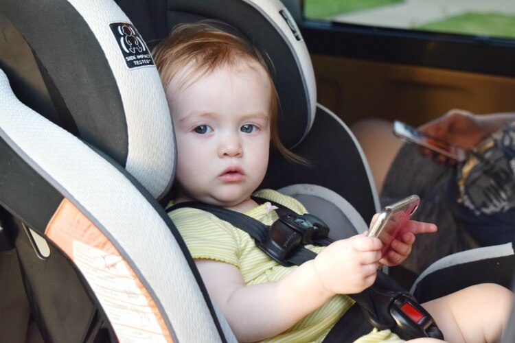 Tips for Reminders when your child is in the car
