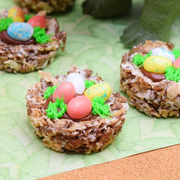 Dinosaur Egg Nests made easy
