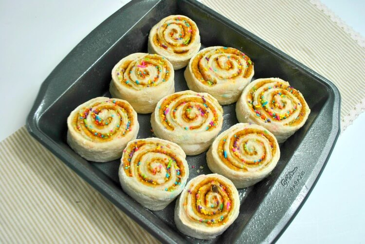 Fairy Sweet Rolls Dough