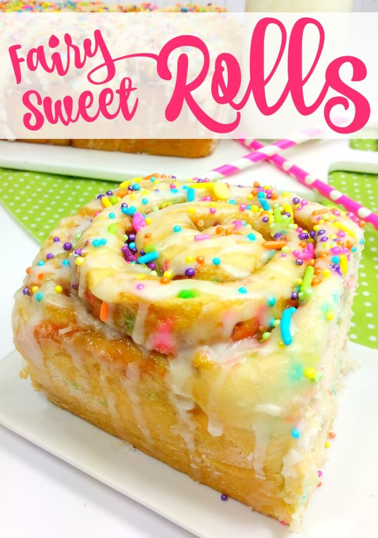 Let's Make Fairy Sweet Rolls