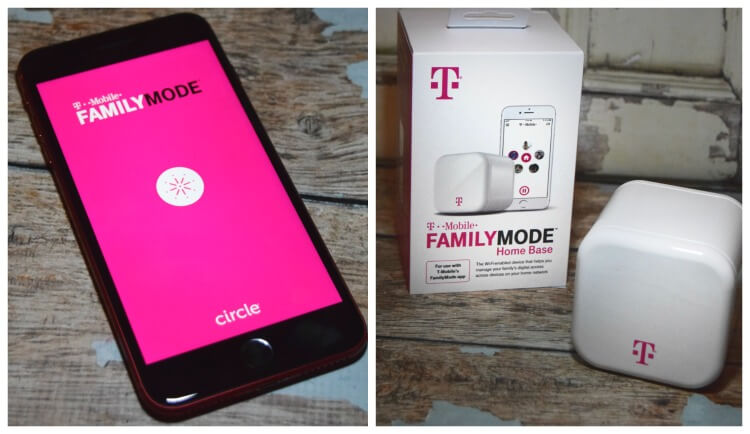 FamilyMode with T-Mobile - app and home base