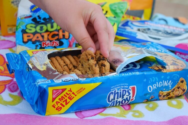 Family Size Chips Ahoy cookies