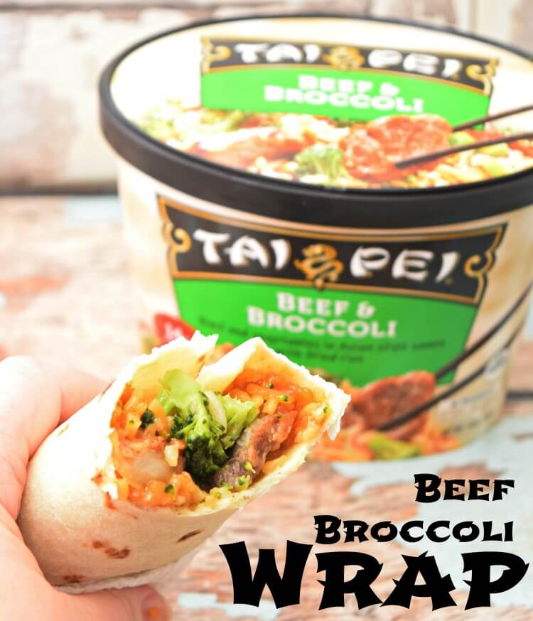 Tai Pei Beef Broccoli Wrap
