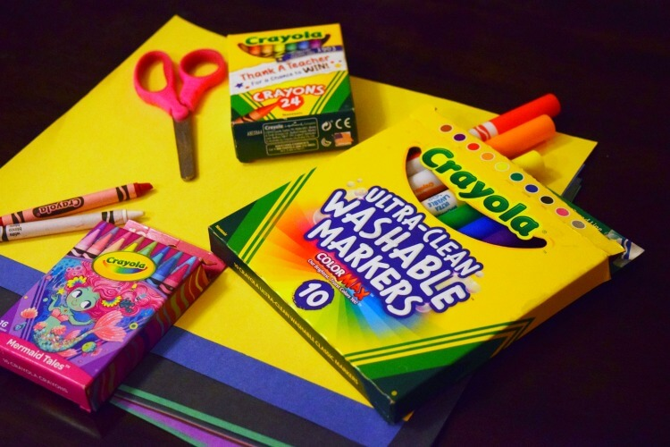 Crayola is my favorite brand for quality school supplies like crayons and markers.