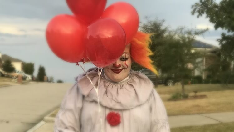 How To Make An DIY Easy Pennywise Clown Costume The TipToe Fairy Amazing Pennywise Costume Pattern