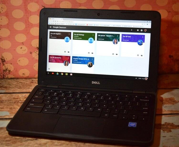 Chromebooks for school