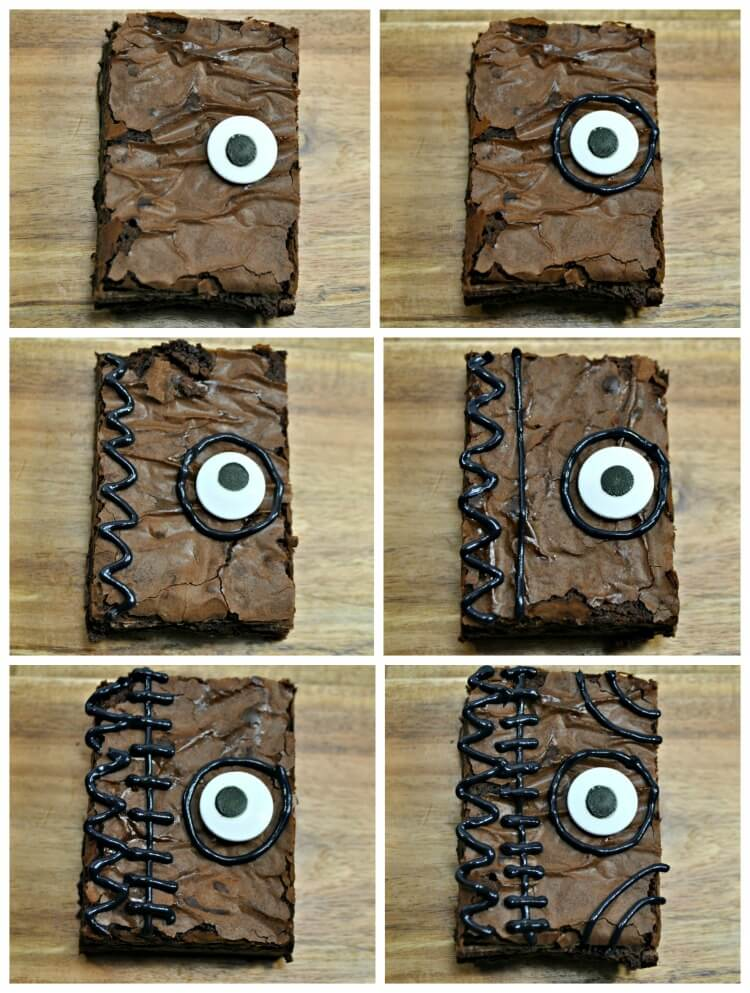 How to decorate Hocus Pocus Spell Book Brownies