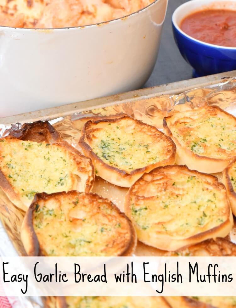 Bays English Muffins - Easy Garlic Bread