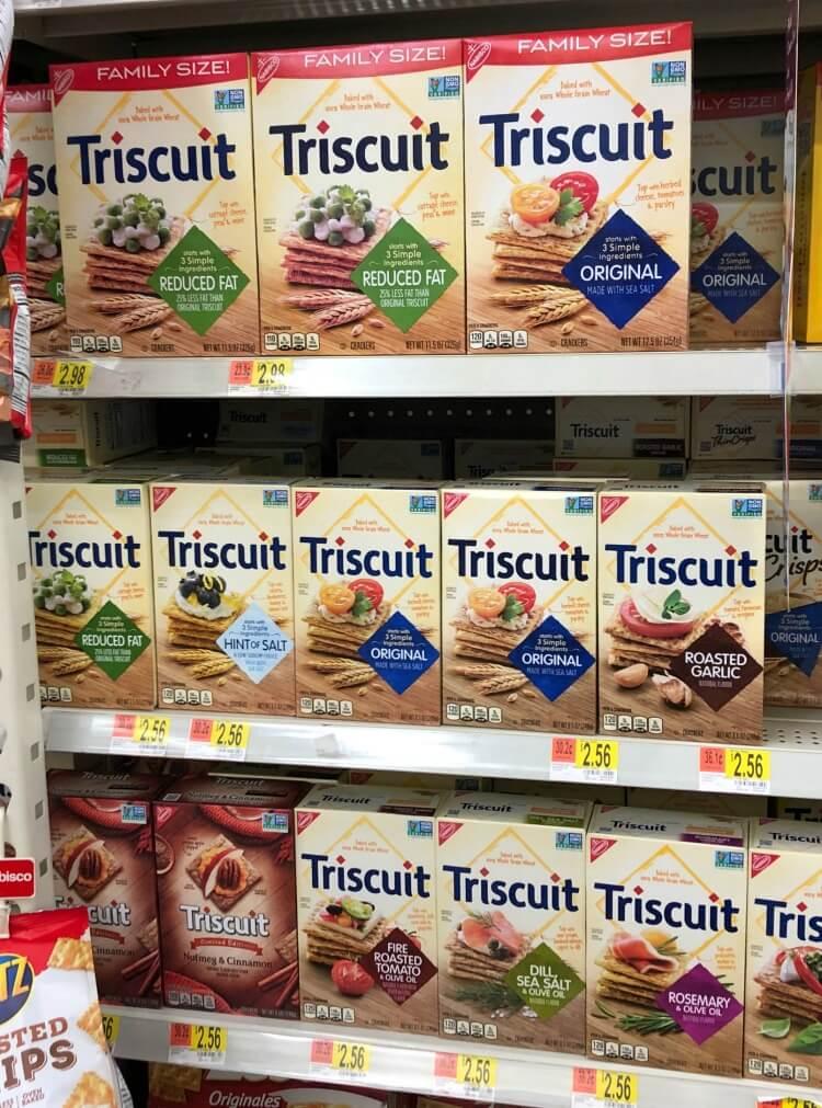 Triscuit at Walmart
