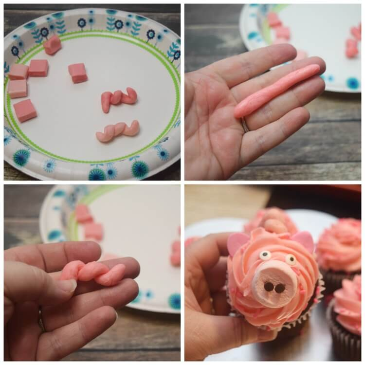 How to make a little pig tail