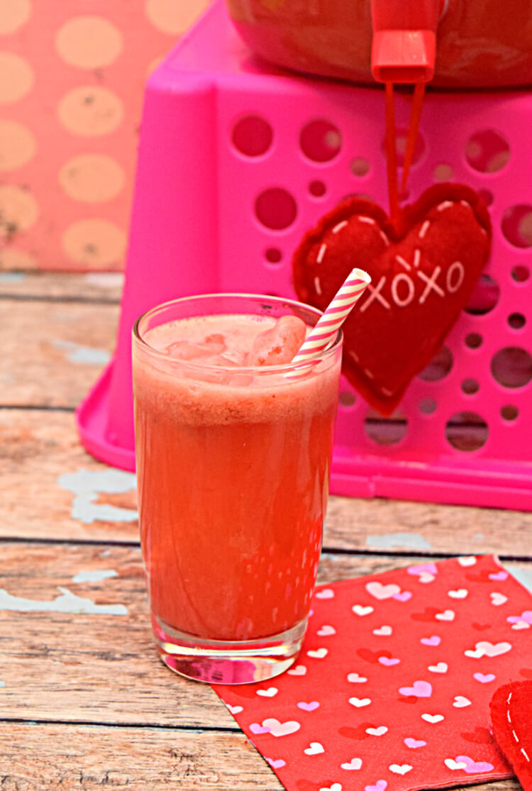 Perfectly Pink Punch for Valentine's Day