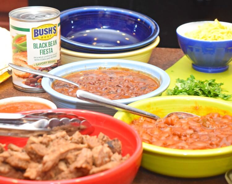 BUSH'S Black Bean Fiesta