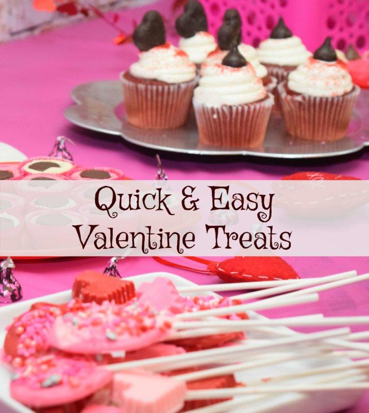 Quick and Easy Valentine Treats