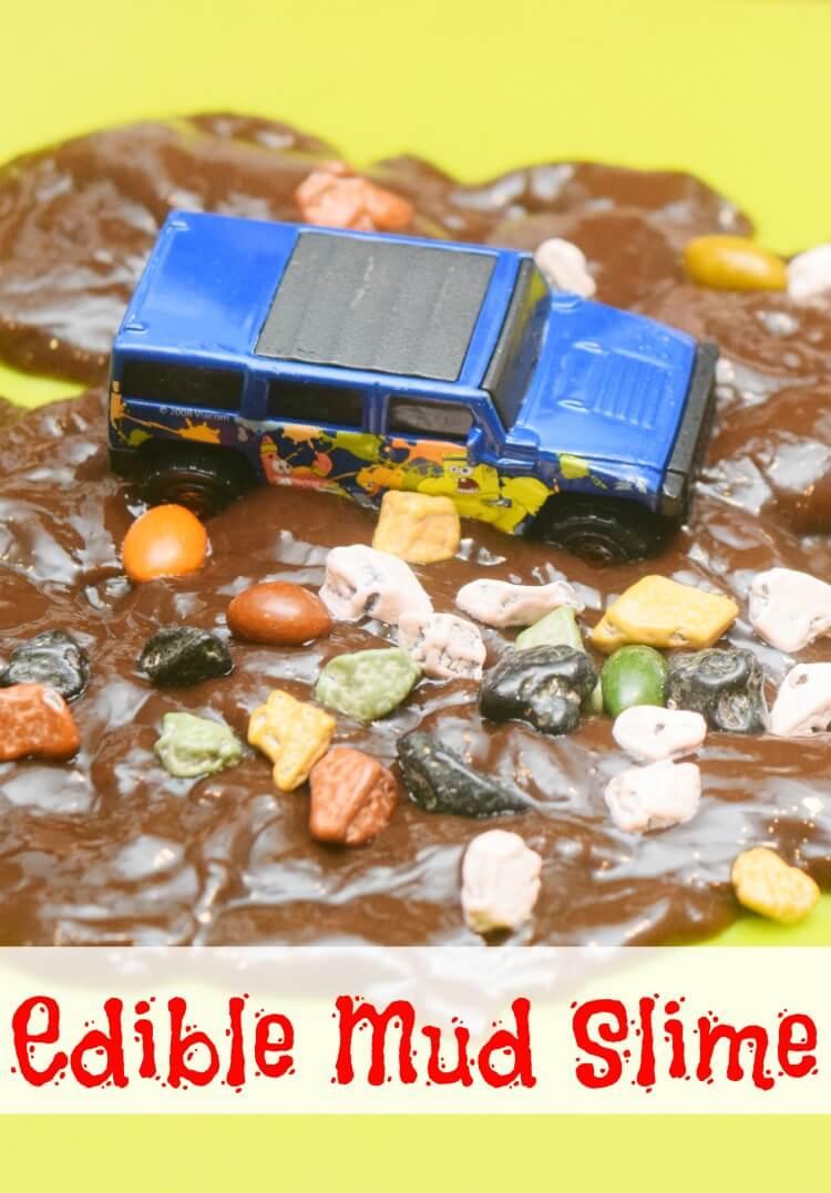 Edible Mud Slime