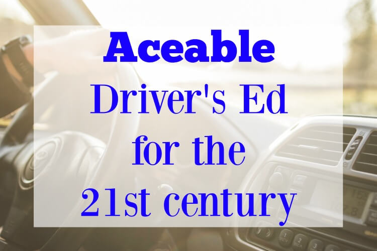 Aceable Driver's Ed for the 21st century