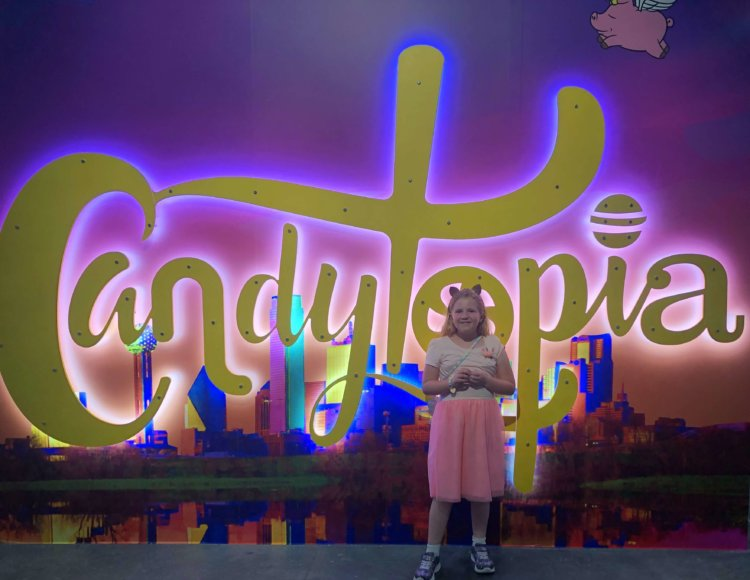 Candytopia in Dallas - the new candy pop up museum!