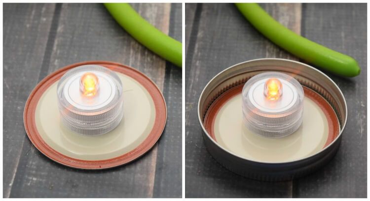 These LED submersible lights are simple to turn off and on and they flicker!