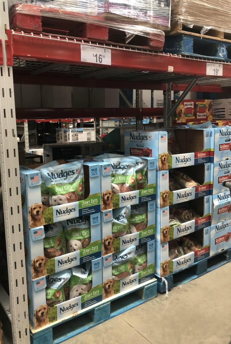 Find Nudges Chicken Jerky and Grillers at Sam's Club.