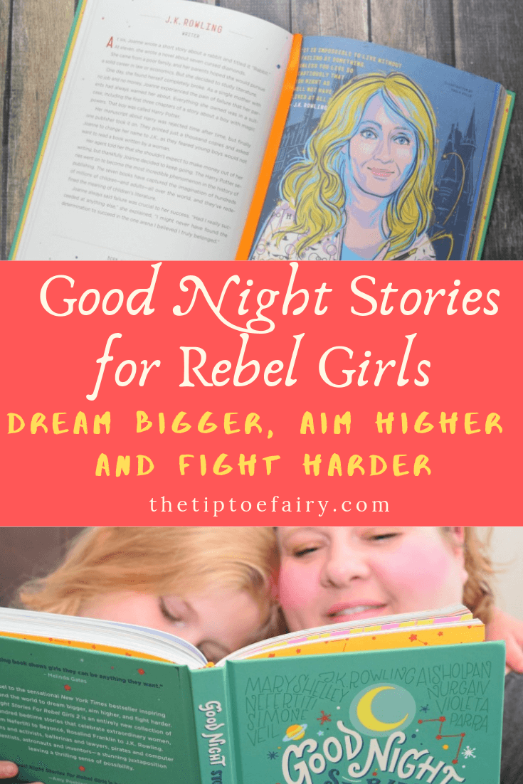 Good Night Stories for Rebel Girls is the perfect bedtime story book for kids.