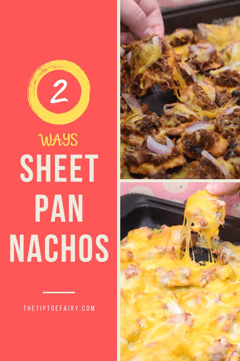 Sheet Pan Ritz Crisp & Thins Nachos