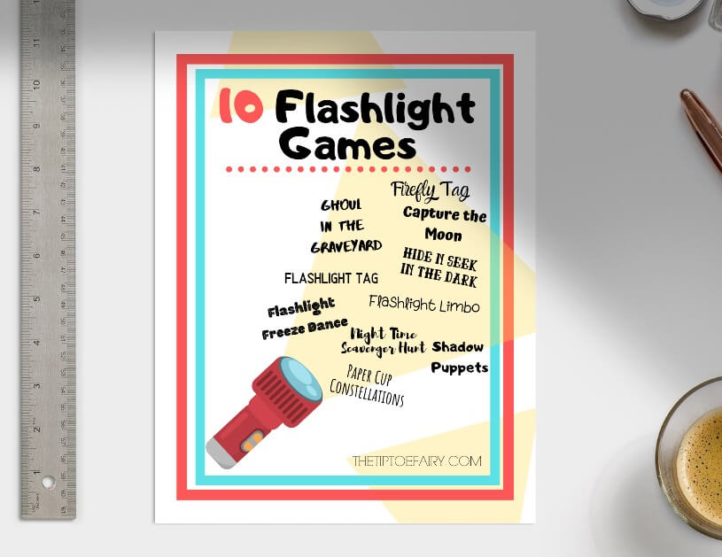 Here is the eBook full of 10 Flashlight Games for Kids