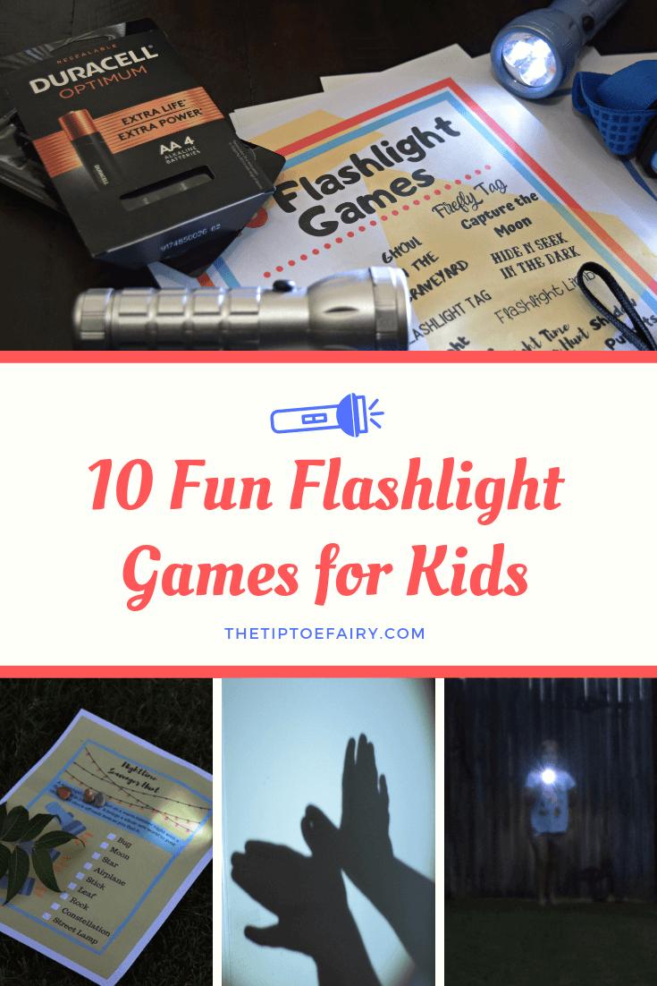 10 Fun Flashlight Games for Kids