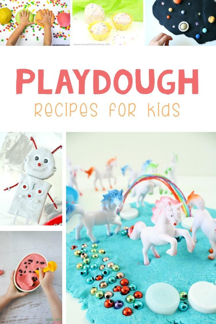 25 Playdough recipes for kids
