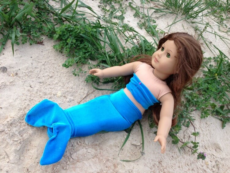 Different look for an American Girl Mermaid Outfit
