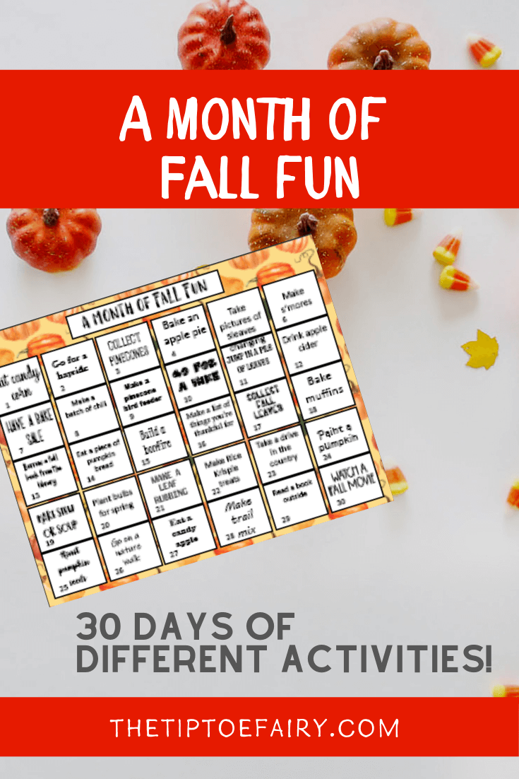 A Month of Fall Fun!