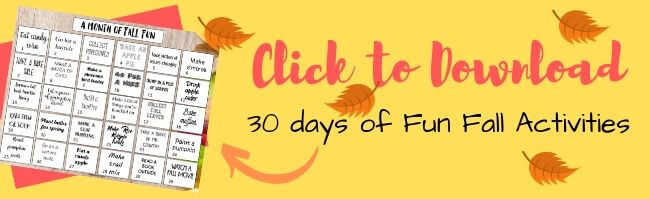 Download your 30 Days of Fun Fall Activities